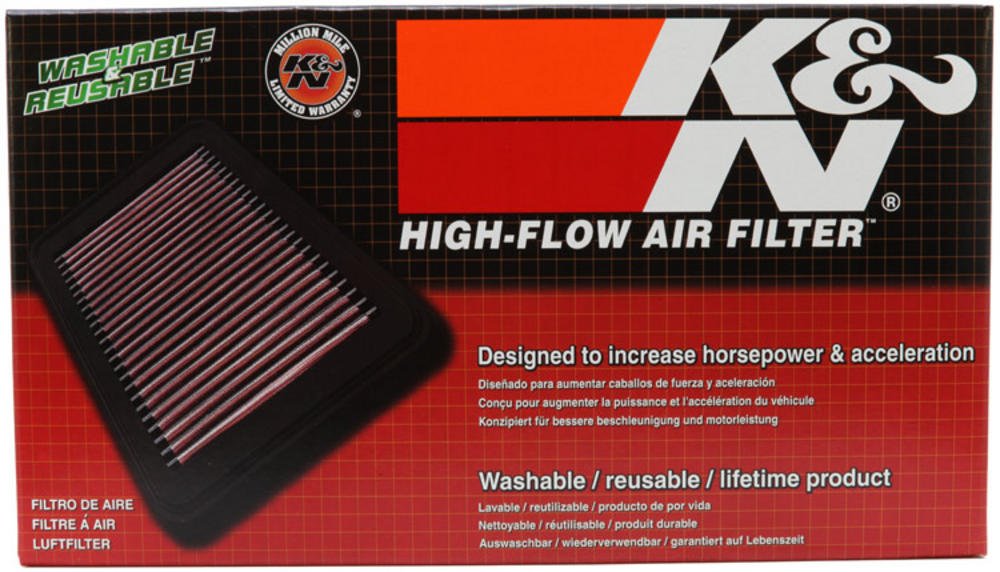 K&N Panel Air Filter FOR NISSAN PULSAR N15 Air Intake & Fuel ... on k&n filter parts, k&n filter 2012 patriot, k&n filter grease, k&n filter bag black, k&n filter size chart, automotive cooling system in line filter, k&n filter light, k&n filter cleaning,
